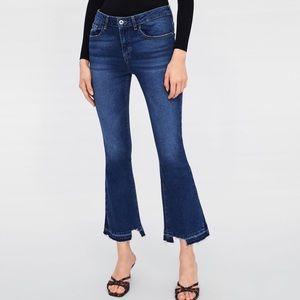 Zara Mini Flare Jeans